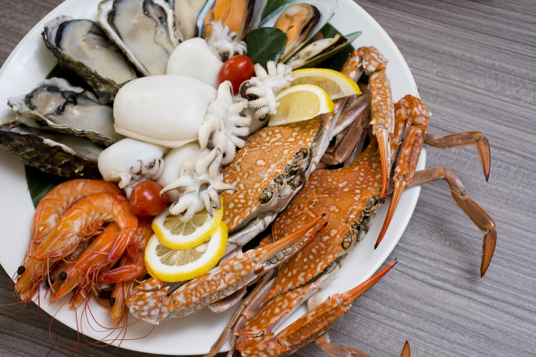 blue crab dinner buffet promotion