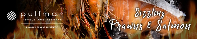 river prawn dinner buffet promotion