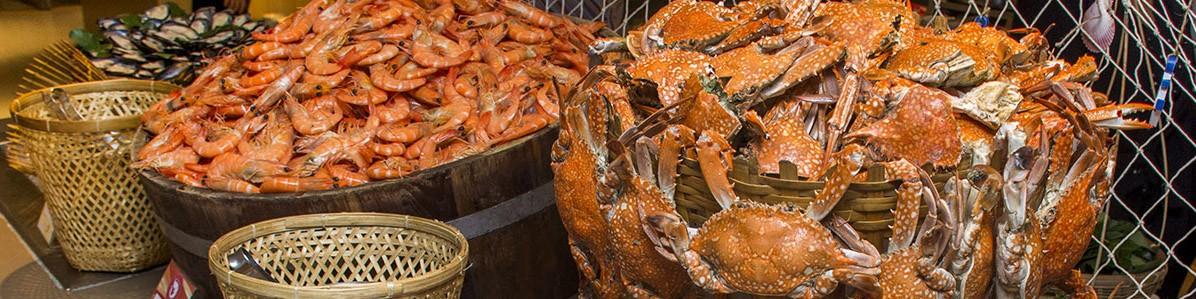 river prawn dinner buffet